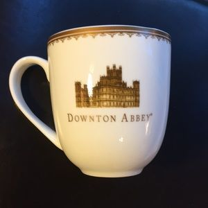 Dowton Abby World market coffee cup